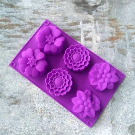 Kukat silikonimuotti