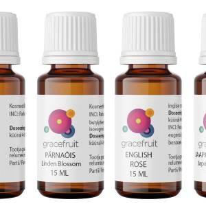 Gracefruit tuoksuöljyt