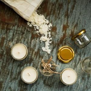 Sojavahast küünla valmistamine